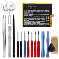 Battery for Gigaset ME Pure - GI03 (3200mAh) + Tool-kit, Replacement battery