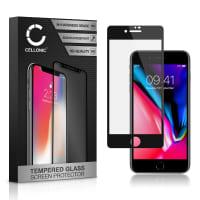 Displaybeschermglas iPhone 7 / iPhone 8 (A1660, A1778, A1779, A1863, A1905...) (3D Case-friendly, 9H, 0,33mm, Full Glue) Tempered Glass