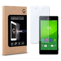 Cristal protector de la pantalla para Sony Xperia M4 Aqua - Tempered Glass (Calidad HD / 2.5D / 0,33mm / 9H)