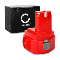 CELLONIC® 12V NiMH Power Tool Battery for Makita 6271D, 6270D, 6317D, 8270D, 8271D, 6227D, 6223D 3Ah 1222, 1220, 1234, 1235, 1200, 1201 Battery Replacement