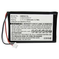 Battery for ESPN DMR-1 - CH603448S1P (1000mAh) Replacement battery