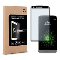 Cristal protector de la pantalla para LG G5 - Tempered Glass (Calidad HD / 3D Full Cover / 0,33mm / 9H)