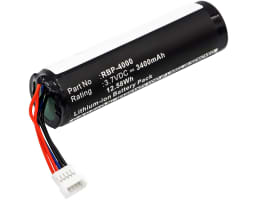 Battery for Datalogic Gryphon GBT4400 GBT4430, Datalogic Gryphon GM4100 GM4130 GM4400 GM4430 GM4100, Datalogic Gryphon RBP-GM40 - RBP-4000, 128000894 (3400mAh) Spare Battery Replacement