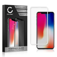 Protection d'écran en verre Apple iPhone X (3D Full Cover, 9H, 0,33mm, Full Glue) Verre trempé