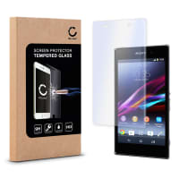 Displaybeschermglas voor Sony Xperia Z1 - Tempered Glass (HD kwaliteit / 2.5D / 0,33mm / 9H)