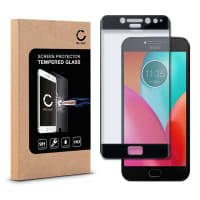 Cristal protector de la pantalla para Motorola Moto E4 Plus - Tempered Glass (Calidad HD / 3D Full Cover / 0,33mm / 9H)