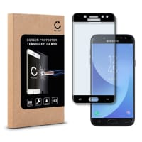 Displaybeschermglas voor Samsung Galaxy J5 DUOS (2017 - SM-J530) - Tempered Glass (HD kwaliteit / 3D Full Cover / 0,33mm / 9H)
