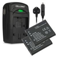Battery for Sony Cyber-shot DSC-W180, -W190, -W370, DSC-S750, -S780, -S950, MHS-CM5 Bloggie, MHS-PM1 Webbie - NP-BK1 (650mAh) Replacement battery