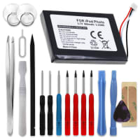 Battery for Apple iPod 4. Generation Photo - A1059 A1099 - 616-0183 (900mAh) + Tool-kit Spare Battery Replacement