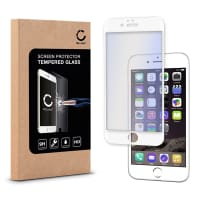 Cristal protector de la pantalla para iPhone 6 / 6S - Tempered Glass (Calidad HD / 3D Full Cover / 0,33mm / 9H)