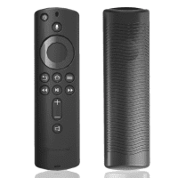 Protective cover for Amazon Fire TV (3rd Gen) / Fire TV Cube / Fire TV Stick 4K - Silicone, Black Case