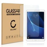 Panzerglas Samsung Galaxy Tab A 10.1 (SM-T580 / SM-T585) (2.5D abgerundete Kanten, 9H, 0,33mm, Full Glue) Displayschutz Tempered Glass