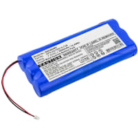 Battery for DSC PowerSeries 9047 / Direct Sensor 17-145A - 6PH-AA1500-H-C28 (2000mAh) Replacement battery