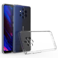 Backcover for Nokia 9 PureView - Silicone, Crystal Clear Case