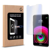 Screen protector glass for LG X Power (K220) - Tempered Glass (HD-Quality / 2.5D / 0,33mm / 9H)