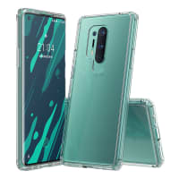 Back Cover for Oneplus 8 Pro - Silicone, Crystal Clear Case