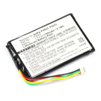 Battery for Medion GoPal P4225 P4425, MD 96536 96537, MD 96553 96558, MD 96573, MD 96586, MD 96611 96618, MD 96646, MD 96685, MD 96716 96717, MD 96805 - (1100mAh) Replacement battery