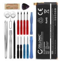 Batterie pour Huawei Ascend P7 (P7-L10) + Set de micro vissage - HB3543B4EBW (2460mAh) Batterie de remplacement