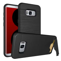 Back Cover for Samsung Galaxy S8 (SM-G950 / SM-G950F) - TPU, Black Case