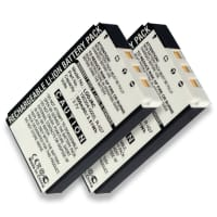 2x Battery for Logitech Wireless DJ Music System - 190301-0000, R-IG7 (950mAh) Spare Battery Replacement