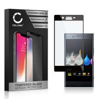 Protection d'écran en verre pour Sony Xperia XZ Premium - Tempered Glass (Qualité HD / 3D Full Cover / 0,33mm / 9H)