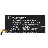 Batterij voor Samsung Galaxy A5 (2014 - SM-A500) - (2300mAh) vervangende accu