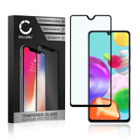 Screen protector glass Samsung Galaxy A41 (SM-A415) (3D Case-friendly, 9H, 0,33mm, Full Glue) Tempered Glass