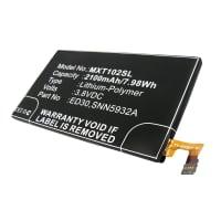 Accu voor Motorola Moto G - ED30, SNN5932A (2100mAh) vervangende accu