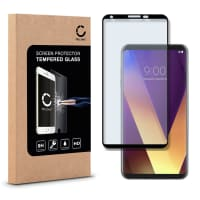 Displaybeschermglas voor LG V30 - Tempered Glass (HD kwaliteit / 3D Full Cover / 0,33mm / 9H)