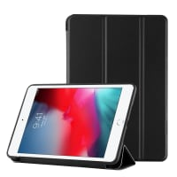 Smart Case per Apple iPad mini 5 (2019) - Similpelle, nero Custodia Borsa Guscio
