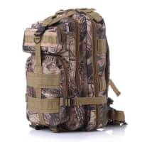 Wanderrucksack aus strapazierfähigem Oxford Gewebe 600D. Mit vergrößerbaren Taschen | Outdoor Rucksack