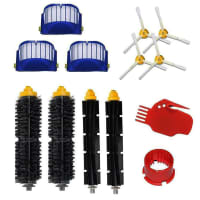 Accessories compatible with iRobot Roomba 600 Series - (13-Piece, Brushes, Filters, Accessories compatible with iRobot Roomba Vacuum Cleaners 600, 615, 625)
