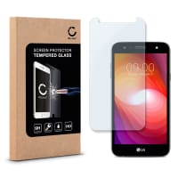 Screen protector glass for LG X Power 2 / X power2 - Tempered Glass (HD-Quality / 2.5D / 0,33mm / 9H)
