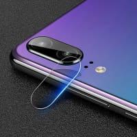 Lentille de protection caméra arrière Smartphone pour Huawei P20 - Tempered Glass (Qualité HD / Film de protection en verre trempé / 0,33mm / 9H)