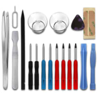 18-Piece Mobile Phone Repair Kit & Computer Repair Tools, Precision Screwdriver Set for Repairing Smartphones, Macbooks, Tablets & Notebooks