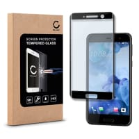 Panzerglas für HTC U Play - Tempered Glass (HD-Qualität / 3D Full Cover / 0,33mm / 9H)