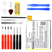Battery for ASUS ZenFone 3 Laser incl. Tool-kit - 0B200-02250000, C11P1606 (2900mAh) Replacement battery