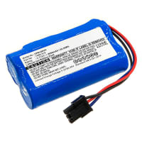 Battery 3.7V, 6000mAh, Li-Ion for WOLF-Garten Power 100 - 7086-918 replacement battery