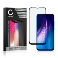 Displaybeschermglas Xiaomi Redmi Note 8 (3D Full Cover, 9H, 0,33mm, Full Glue) Tempered Glass