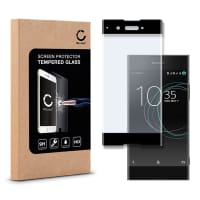 Cristal protector de la pantalla para Sony Xperia XA1 - Tempered Glass (Calidad HD / 3D Full Cover / 0,33mm / 9H)
