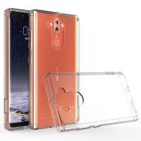 Backcover for Nokia 8 Sirocco - Silicone, Crystal Clear Case