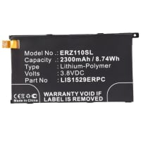 Battery for Sony Xperia Z1 Compact (D5503) (2300mAh) LIS1529ERPC