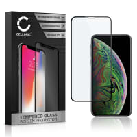 Displaybeschermglas Apple iPhone Xs (3D Case-friendly, 9H, 0,33mm, Full Glue) Tempered Glass