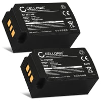 2x Battery for Parrot Zik 1.0 - 072132P 1|CP7/20/33-2 2D001855 3H 049349 FT652031P MCELE00151 MCELE00209 MH45586 PF056001AA PI020438AA2F001585 (700mAh) Replacement battery