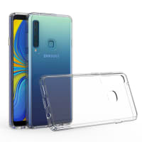 Back Cover for Samsung Galaxy A9 (2018 - SM-A920) - Silicone, Crystal Clear Case
