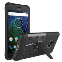 Back Cover for Motorola / Lenovo Moto G5 Plus - TPU, black Case