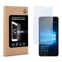 Cristal protector de la pantalla para Microsoft Lumia 650 - Tempered Glass (Calidad HD / 2.5D / 0,33mm / 9H)