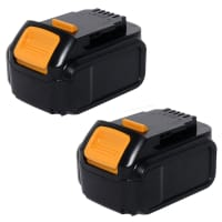 2x Battery 14.4V, 5Ah, Li-Ion for Dewalt DCD720 DCD730 DCD735 DCD931 - DCB140, DCB141, DCB142 Spare Battery Replacement