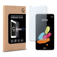 Screen protector glass for LG Stylus 2 - Tempered Glass (HD-Quality / 2.5D / 0,33mm / 9H)