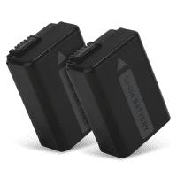 A7R II 2x AKKU BATTERIE 950mAh Chip für Sony Alpha 7R II ILCE-7RM2